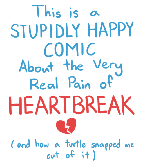 Stupidly Happy Comic About Heartbreak
